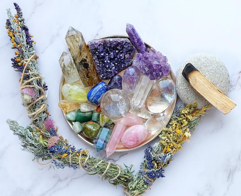 Crystal gift set