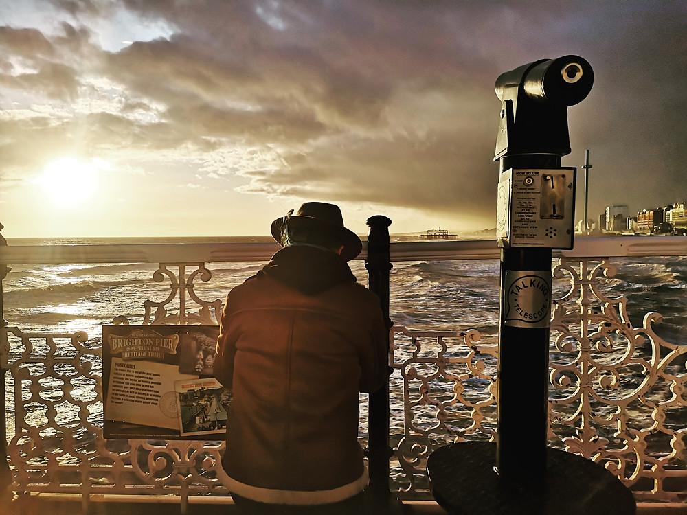 Brighton Palace Pier sunset