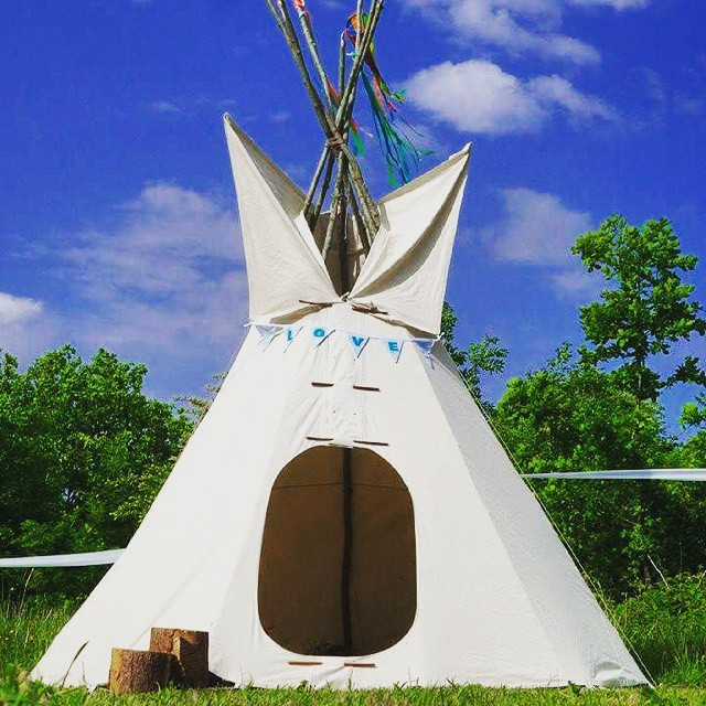 Instagram - Our #wedding #tipi #teepee #bohowedding #festivalbrides