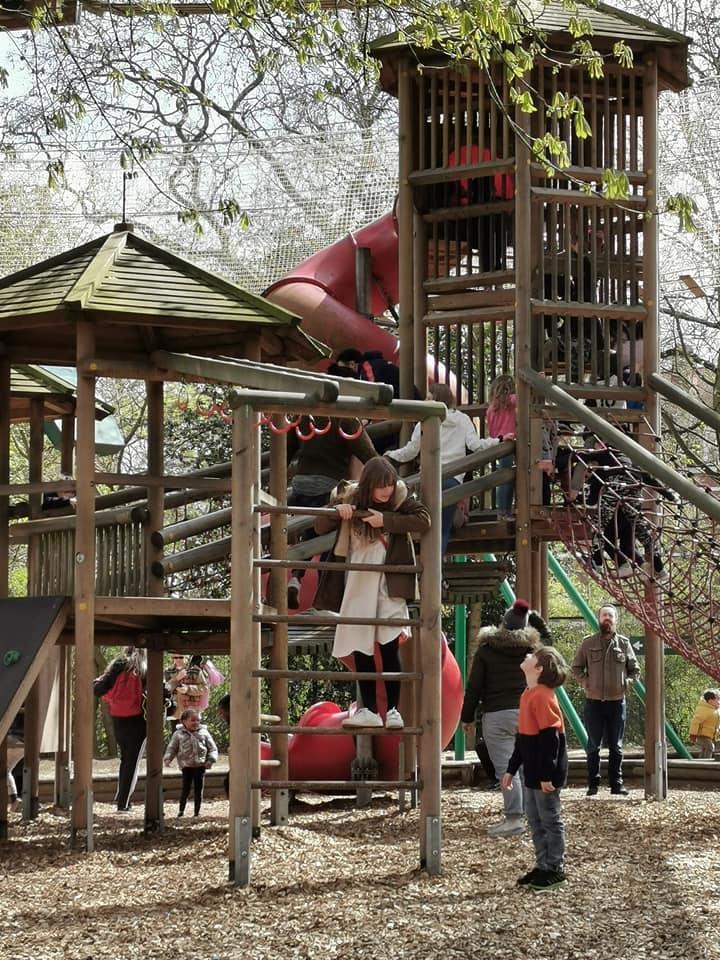 Battersea Park adventure playground