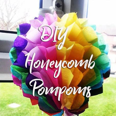 DIY honeycomb decorations