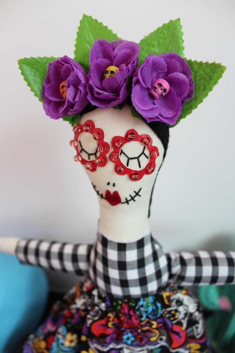 Day of the Dead, cloth doll