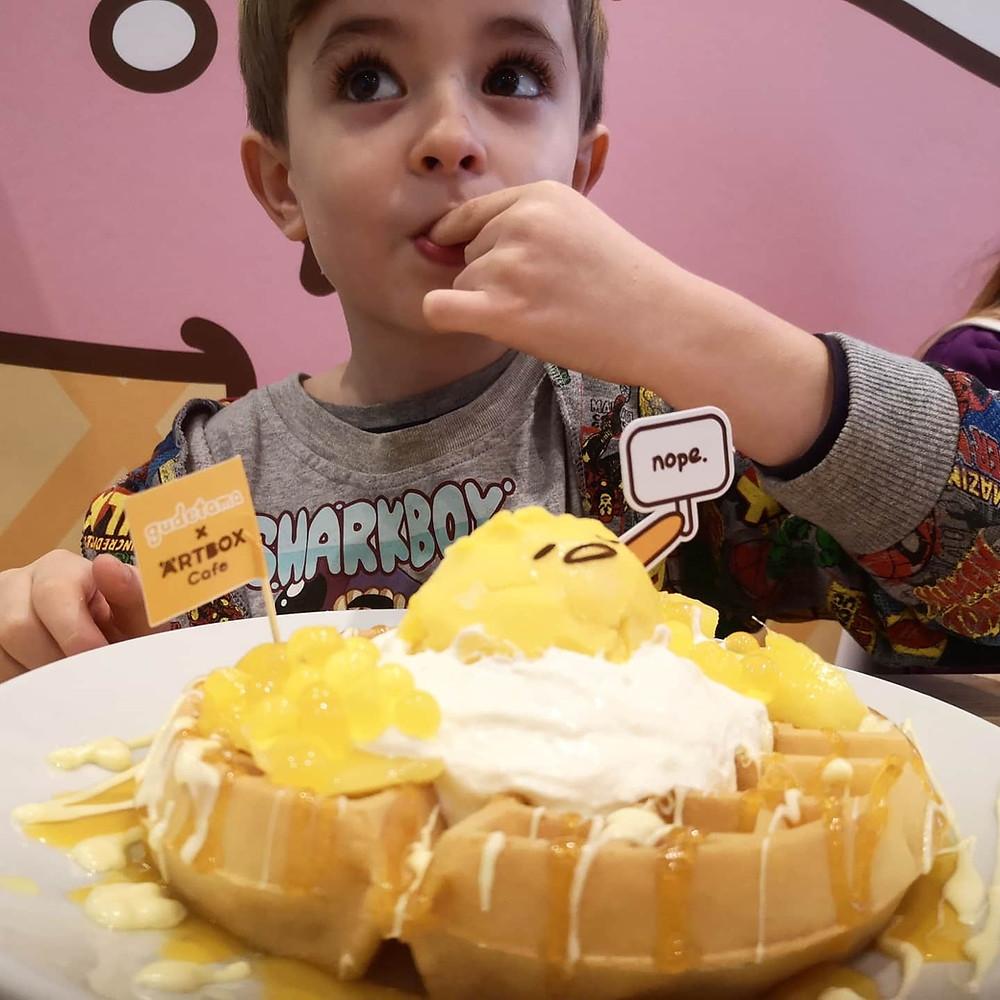 Gudetama waffle Brighton