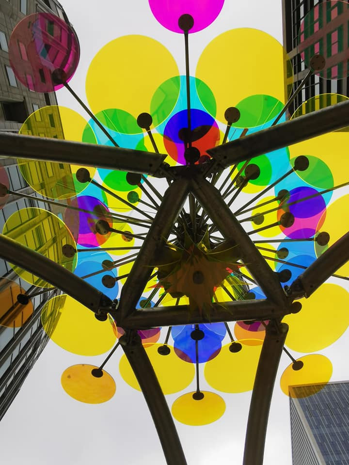 Summer Lights Canary Wharf