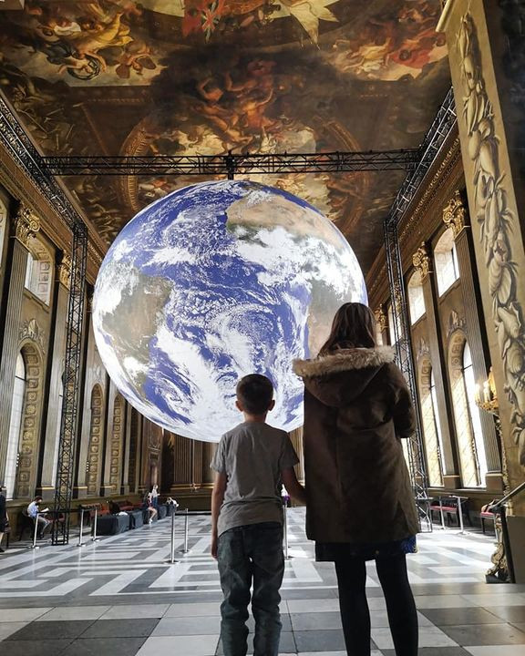 Gaia Earth Luke Jerram Greenwich