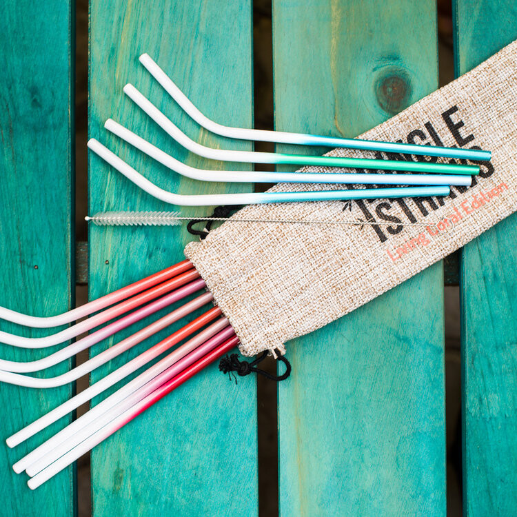 Jungle Straws metal straws