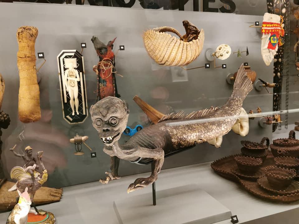 Horniman Museum mermaid merman