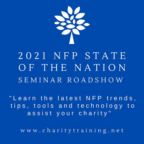 2021 NFP State of the Nation Seminar Roadshow