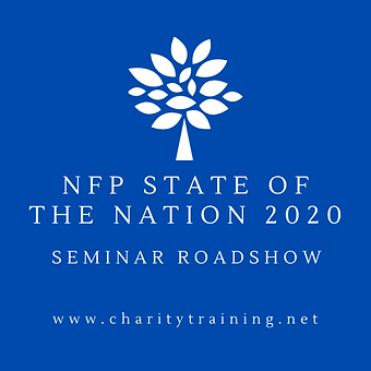 NFP State of the Nation seminar roadshow for charities and nonprofits