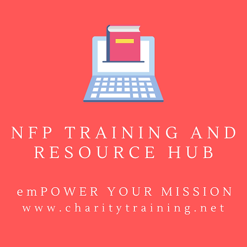 NFP Training and Resource Hub
