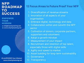 12 Focus Areas to Future Proof Your NFP.