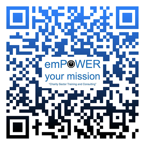 Charity Branded QR Code