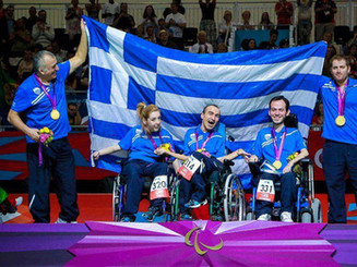 The GOLD in London 2012 Paralympics