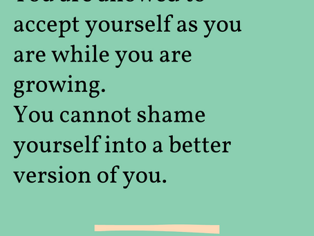 Give Yourself a Break: How Self-Compassion Sits Alongside Growth