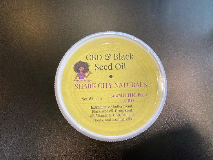 500mg CBD & Black Seed Oil Cream