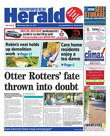 Archant Media Midweek Herald Honiton