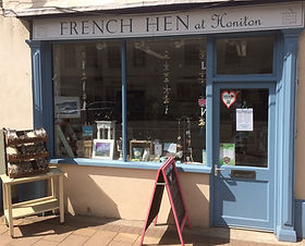 French Hen at Honiton, Chalk Paint, Silver Jewellery, Scarves and Scarff Rings, jewellery, homeware, gifts, bags, candles, room fragrances