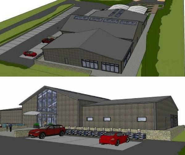 Combe Estates New Garden Centre Honiton Approved EDDC