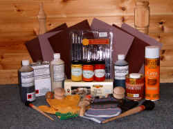 wood finishing sundries