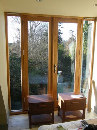 oak french door