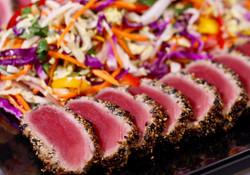 Seared Tuna Close ___