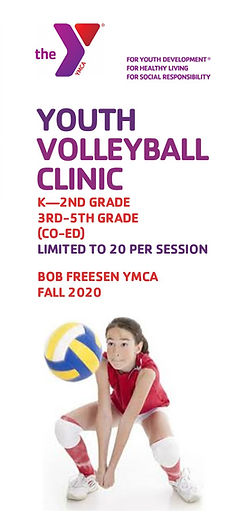Youth Volleyball Brochure Rev. August 26