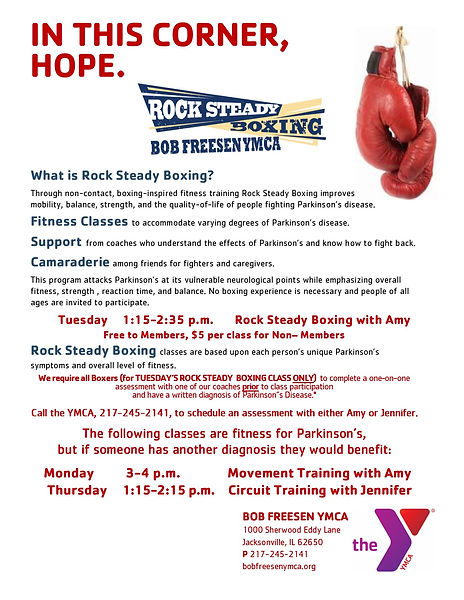 Bob Freesen Rock Steady Boxing Flyer 2_2