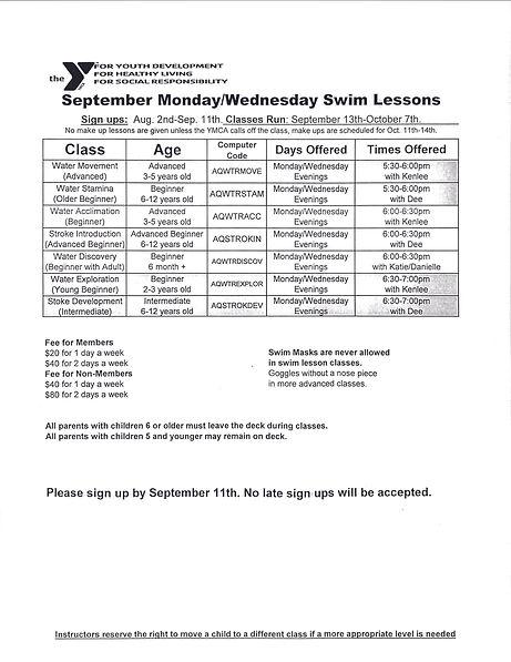 Sept Swim lessons even mon Wed 2021.jpg