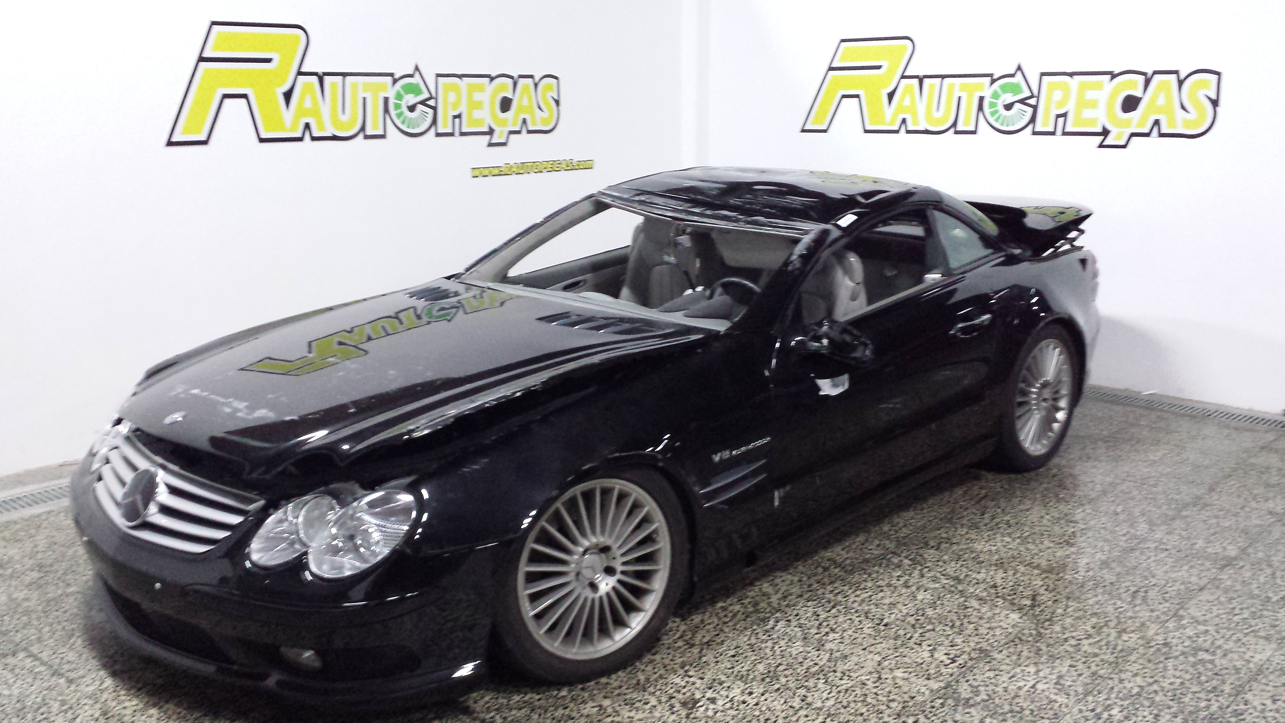 mercedes sl 55 amg parts breaking