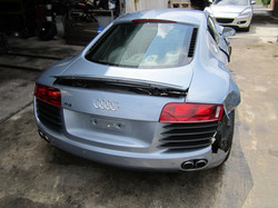 audi r8 para breaking for parts