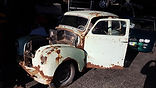 austin a40 doorset restoration, project, porsche 356 parts