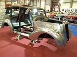 Morris Ten restoration, classic car restoration, restauration voiture anciene, restaurer voiture