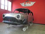 Mini van restoration, classic car restoration, restauration voiture anciene, restaurer voiture
