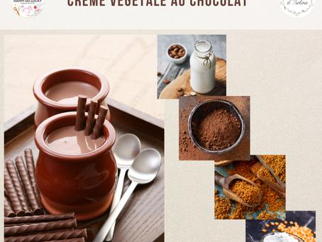 Recette de la crème végétale au chocolat corsé !