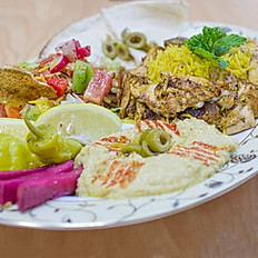 Chicken Shawarma/Beef Donair Platter