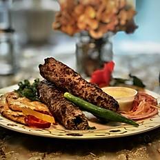 Naan Kebab Platter