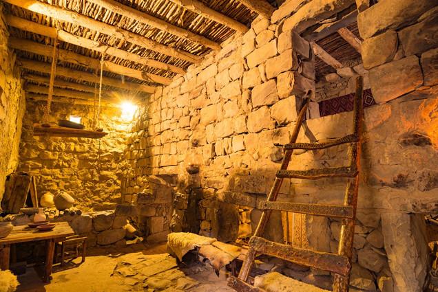 Katzrin Talmudic Period Home