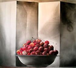 still life cherries