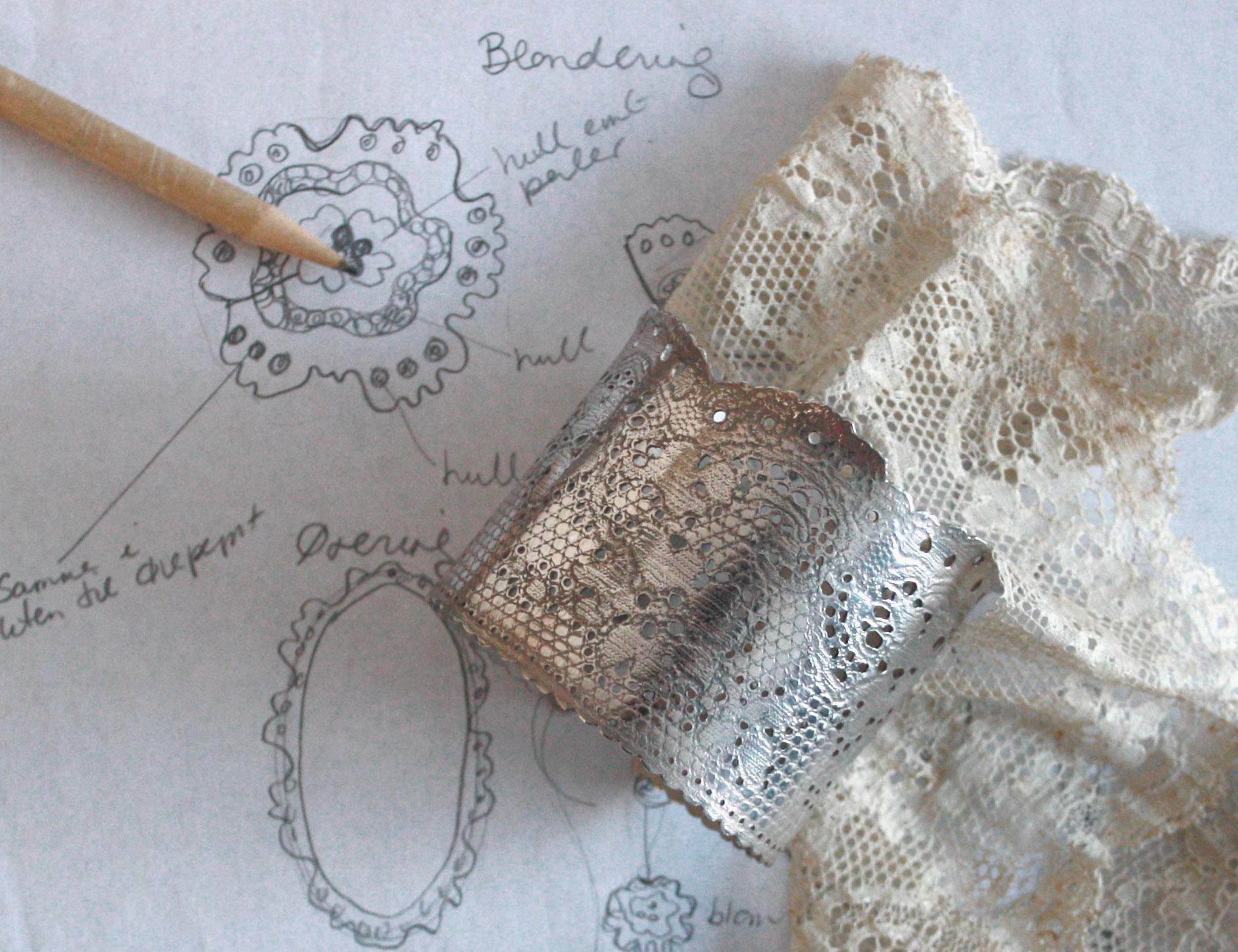 Blondearmbånd smykke Hilde Fostveit