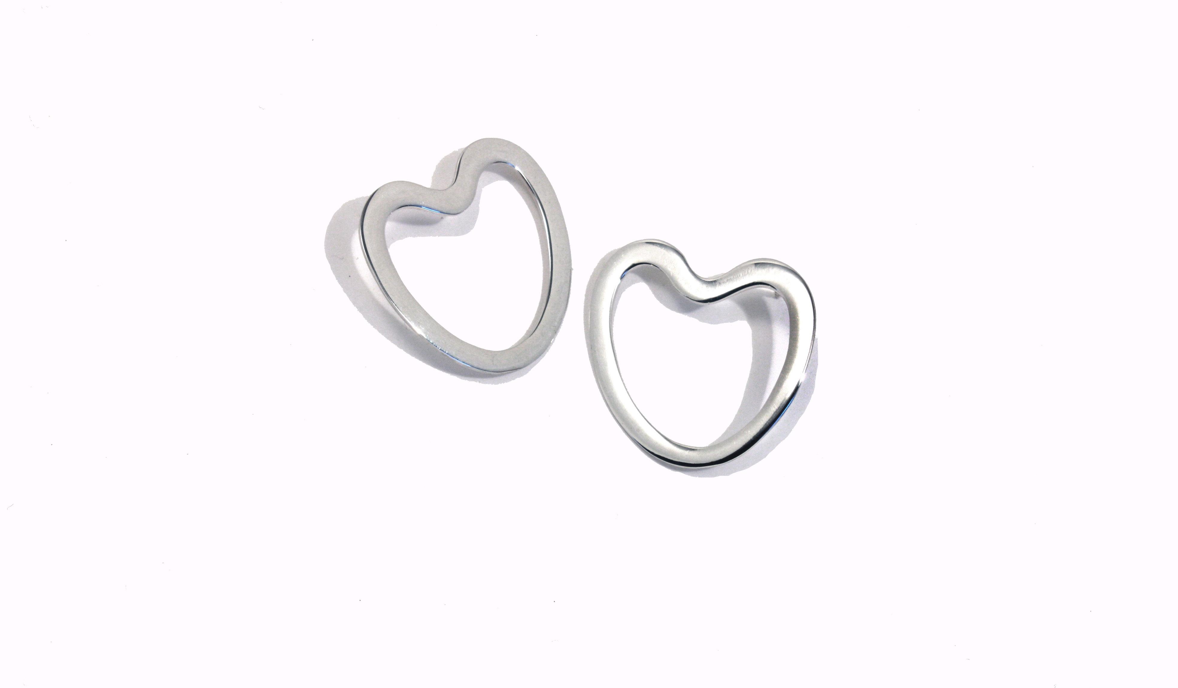 vår_sølv_hjerter sølvsmykke Hilde Fo
