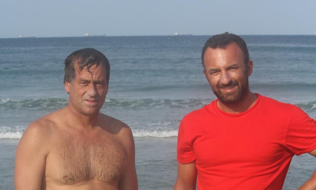 Tom Curren with Lisbon Surf Tours