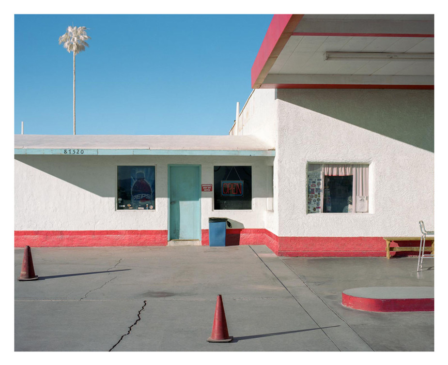 Gas Station, Route 66, 2018