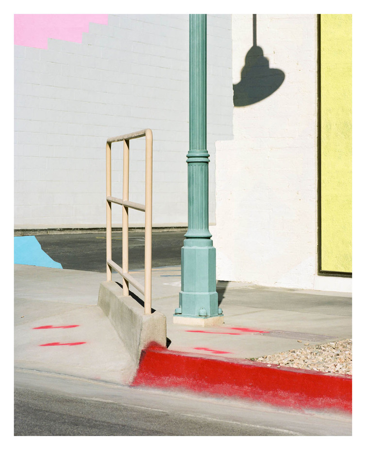 Corner Composition, Palm Springs, 2017