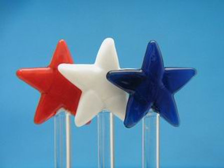 RED, WHITE & BLUE STARS