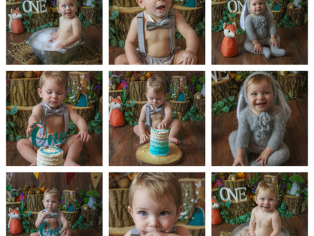Cake Smash & Splash - Camberley | Farnborough | Farnham | Chobham | Starspeckled Hearts Photography