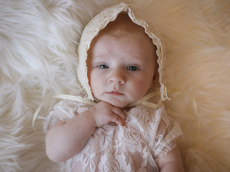 Little Smiler - Sweet & Girly session for Baby Delilah-Mae  | Starspeckled Hearts Photography