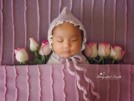 Newborn Photoshoot - Niwa | Farnborough | Farnham | Fleet | Surrey | Starspeckled Hearts Photography
