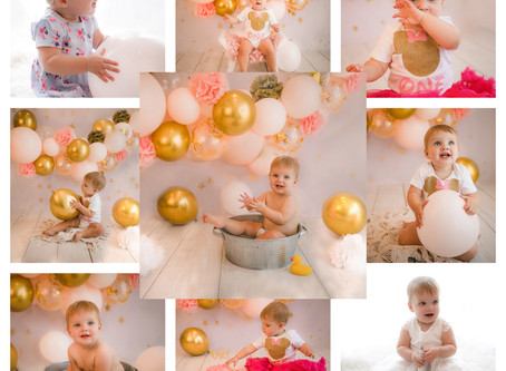 Cake Smash Photographer Guildford, Surrey | Cobham | Wokingham | Basingstoke | Hampshire | Berkshire