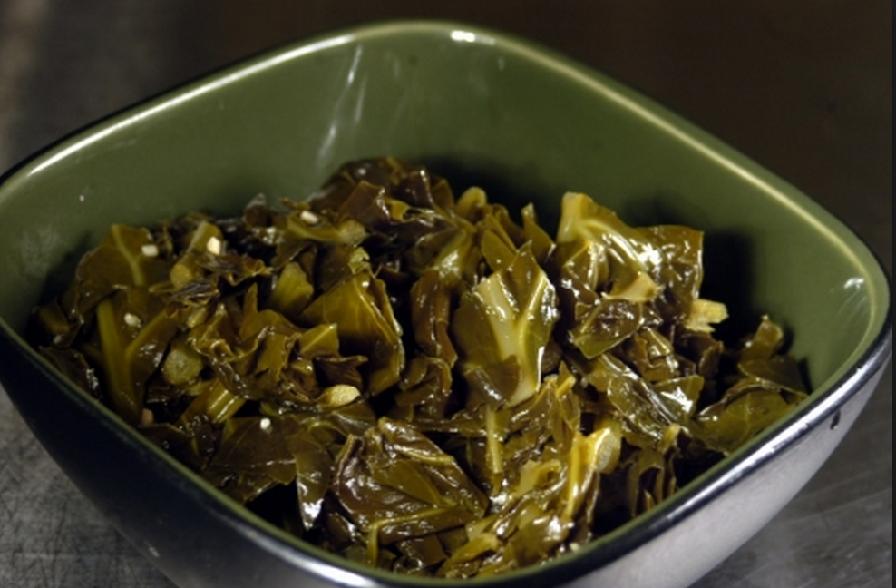 5-Minute Collard Greens
