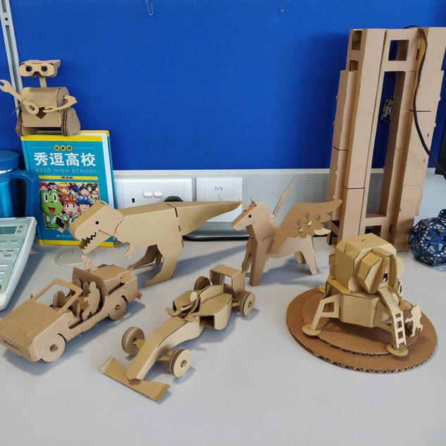 Mini Cardboard series